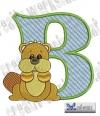 Alphabet Waldtiere - B