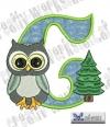 Alphabet Waldtiere - C