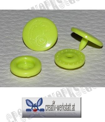 CREATIV-WERKSTATT at - Kam Snaps 10er Set Frosch grün